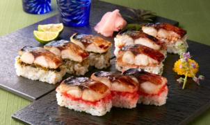 博多華味鳥監修 3種の焼き鯖棒寿司セット